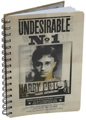 Sirius & Harry 3D Notebook