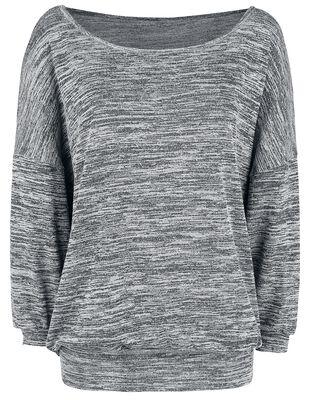 Oversized Melange Wideneck Sweater