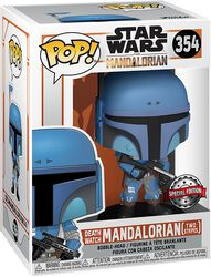 The Mandalorian - Death Watch Mandalorian (Two Stripes) Vinylfiguur 354