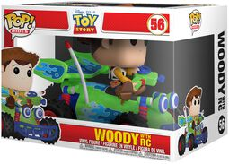 Woody with RC POP! Rides Vinylfiguur 56