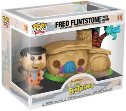 The Flintstones Fred Flintstone with House (POP! Town) Vinylfiguur 14