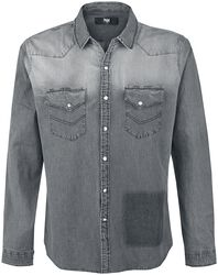 Grey Washed Shirt