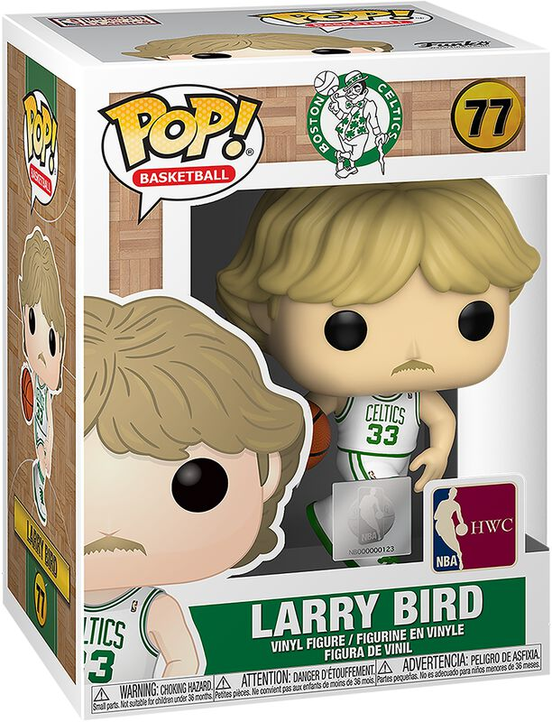 Boston Celtics - Larry Bird Vinylfiguur 77