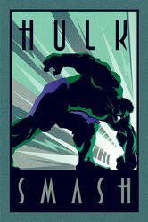 Marvel Deco - Hulk