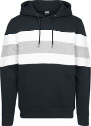 Chest Striped Hoodie