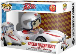Speed Racer Speed Racer With Mach 5 (POP Rides) Vinylfiguur 75
