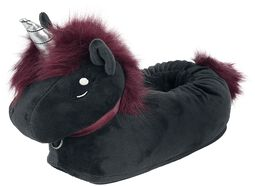 Ruby Punk Unicorn Kids' Slippers