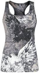 Washed Top with Print