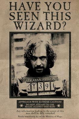 Wanted Sirius Black