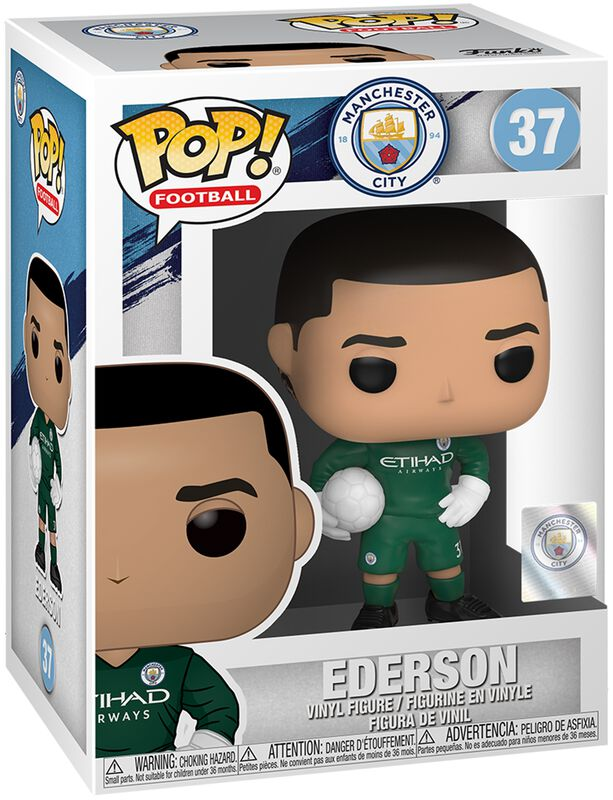 Football Manchester City - Ederson Vinylfiguur 37