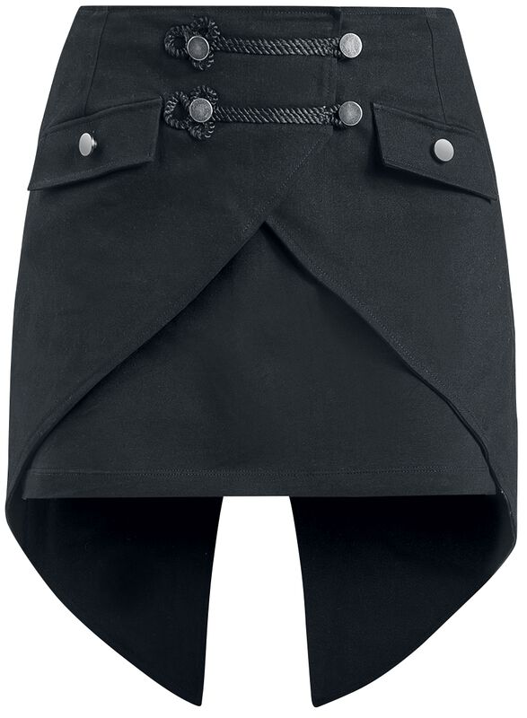 Black Skirt with Dovetail
