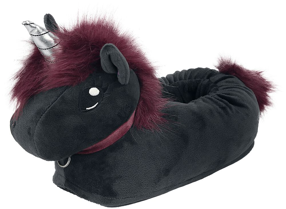 Corimori - Ruby Punk Unicorn Adult Slippers