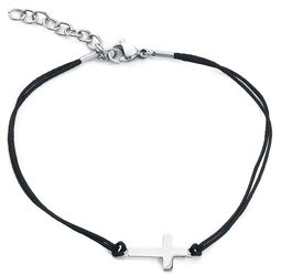 Cross Leather Ankle Chain