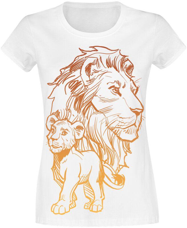 Simba And Mufasa - Father And Son