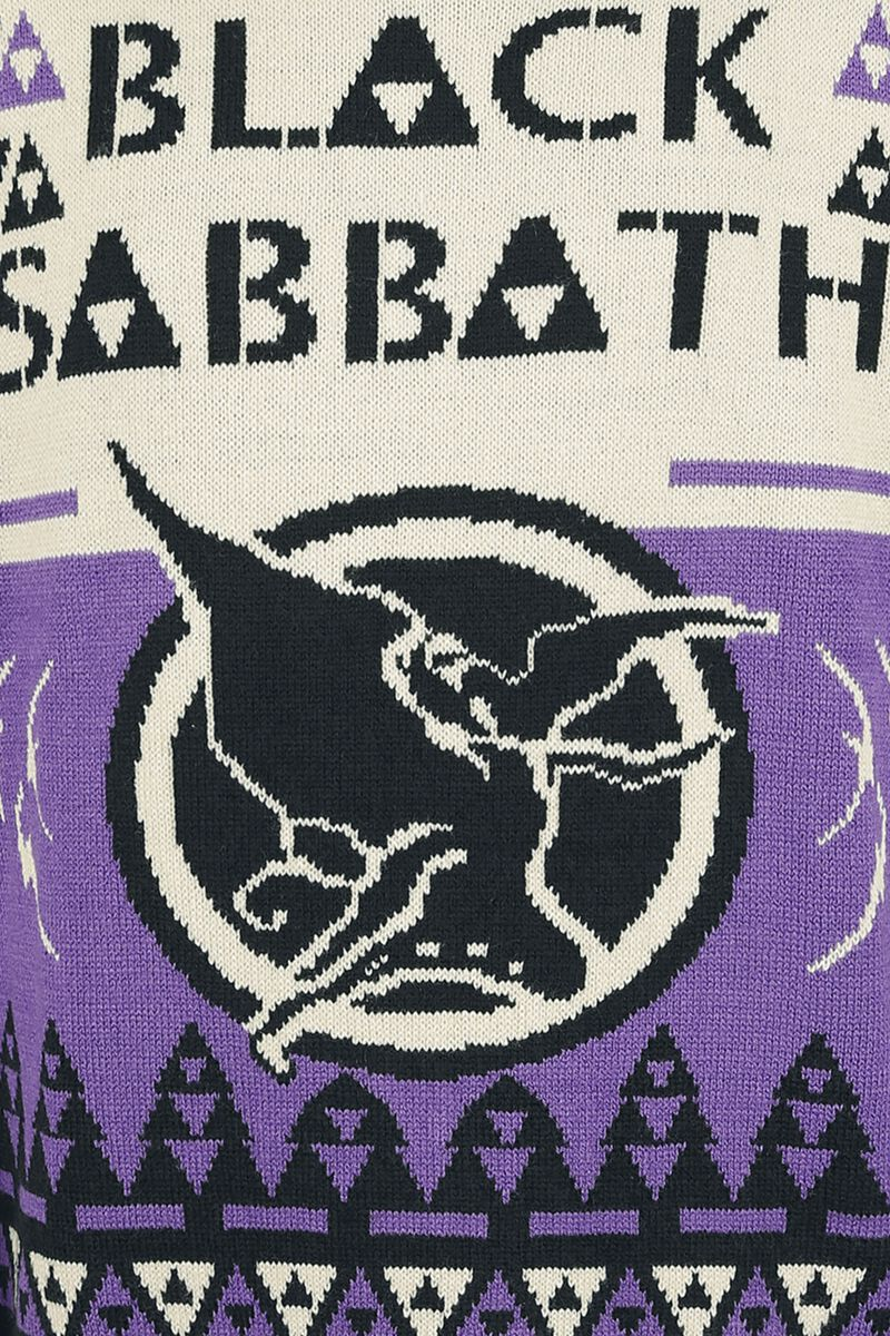 Holiday Sweater 2018 Black Sabbath Christmas Jumper Large