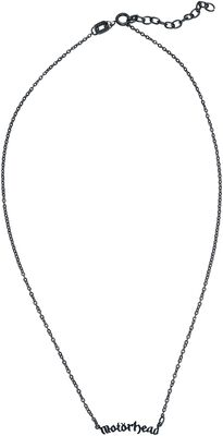 Fine Chain Motörhead Necklace