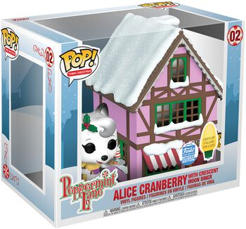 Peppermint Lane - Alice Cranberry with Crescent Moon Diner (Pop! Town) (Funko Shop Europe) Vinylfiguur 02