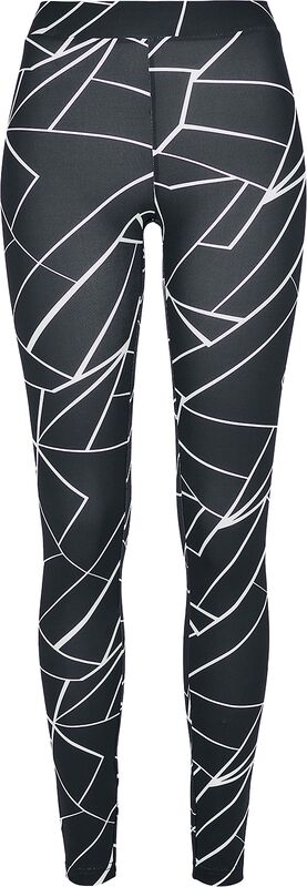 Ladies AOP Geometric Leggings