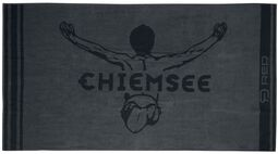RED X CHIEMSEE - graues Handtuch mit Logoprint