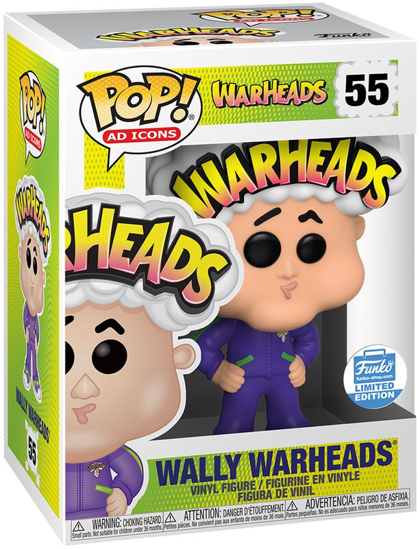 Wally Warheads (Funko Shop Europe) Vinylfiguur 55