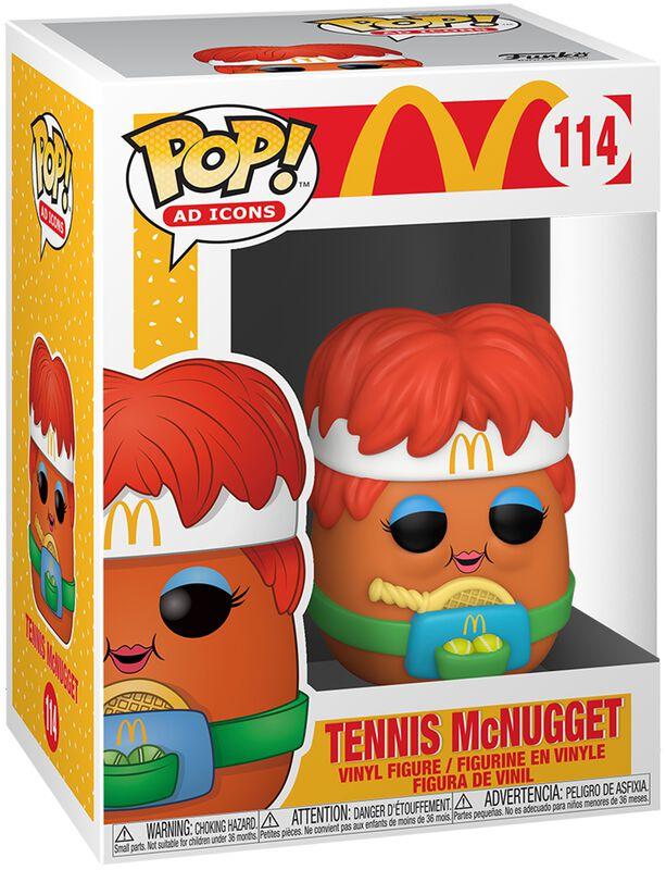 Mc Donalds Tennis McNugget Vinylfiguur 114