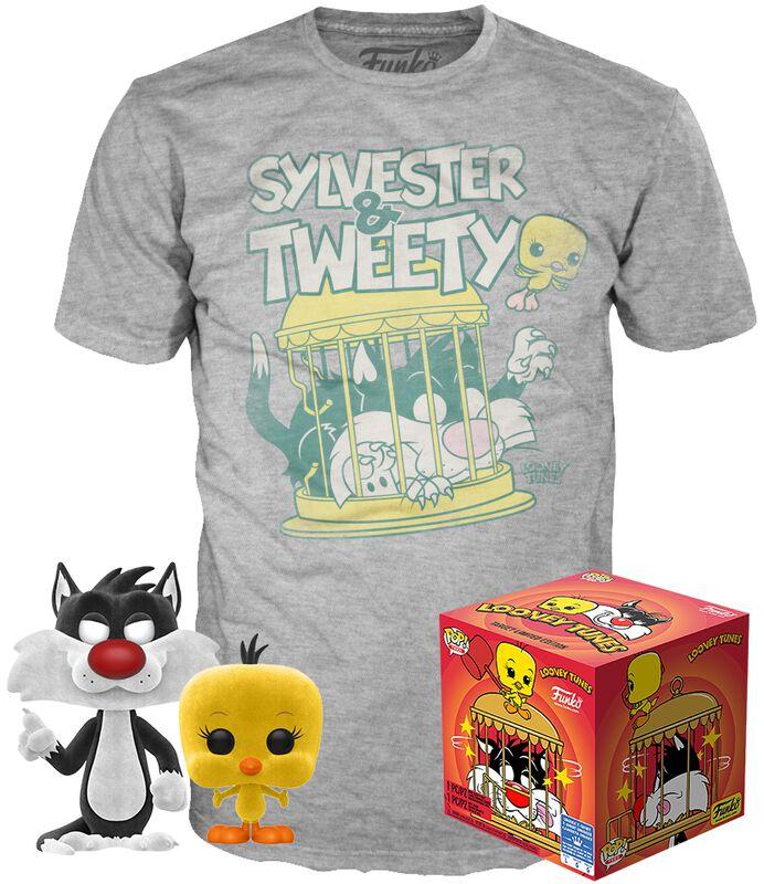 Sylvester & Tweety - POP! & Tee