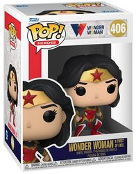 80th Anniversary - Wonder Woman (A Twist Of Fate) Vinyl Figuur