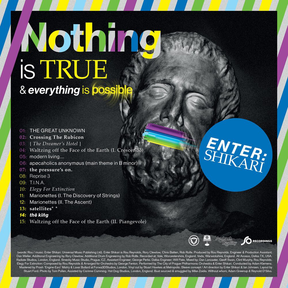 Nothing is true & everything is possible | Enter Shikari CD | Large