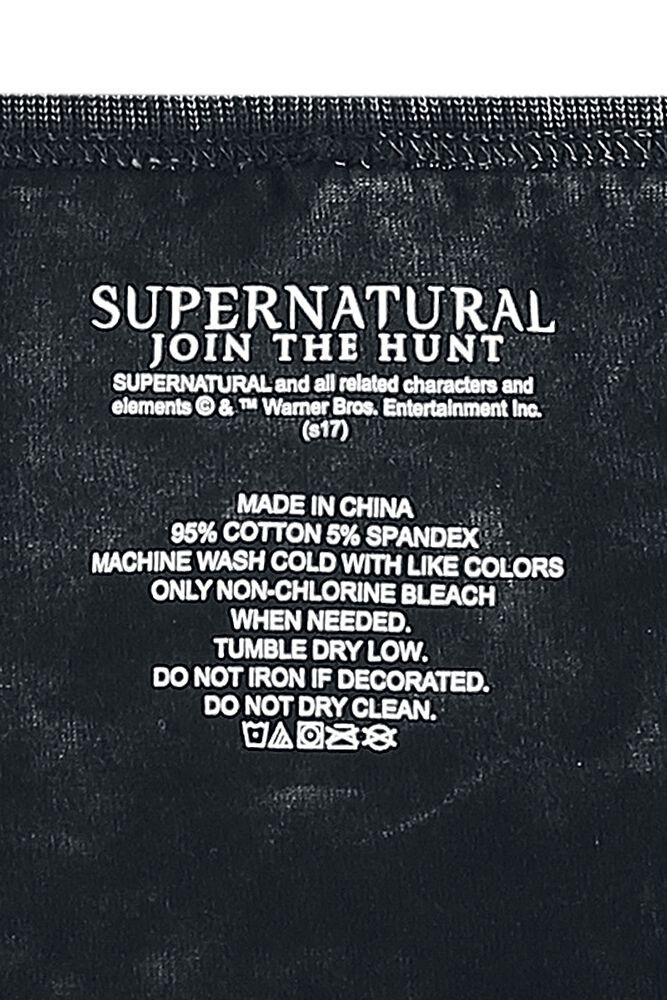 Symbols Supernatural T Shirt Large