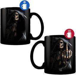 Bone Finger - Heat-Change Mug