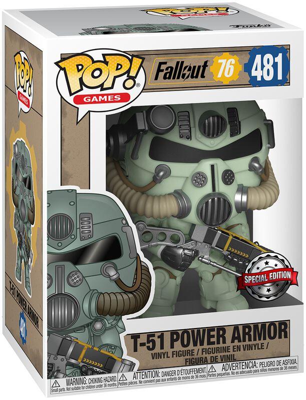 76 - T-51 Power Armor Vinylfiguur 481