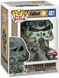 76 - T-51 Power Armor Vinylfiguur 481