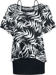 2 in 1 AOP Leaves Shirt