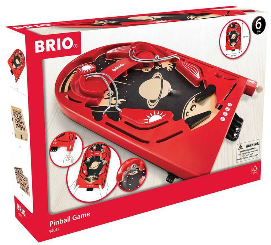 Brio Space Safari Pinball Game