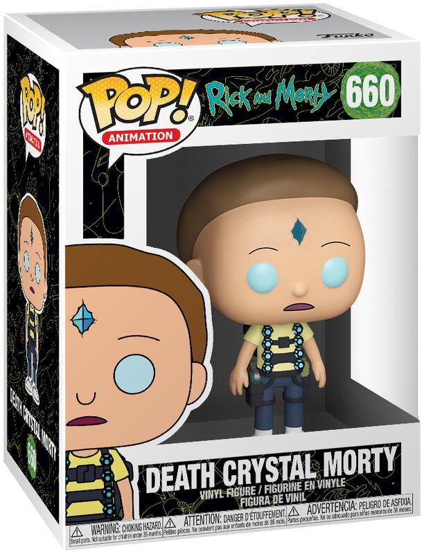 Death Crystal Morty Vinylfiguur 660