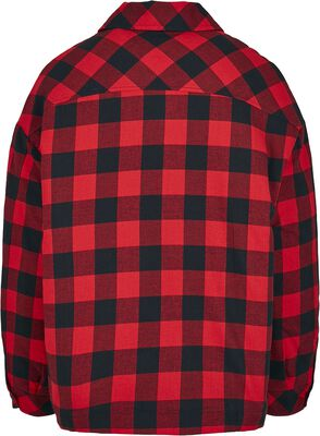 Ladies Flannel Padded Overshirt
