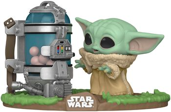 The Mandalorian - The Child (Baby Yoda) with Egg Canister (Pop! Deluxe) Vinylfiguur 407