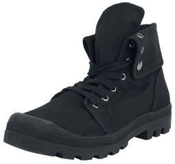 Military Canvas Boot High