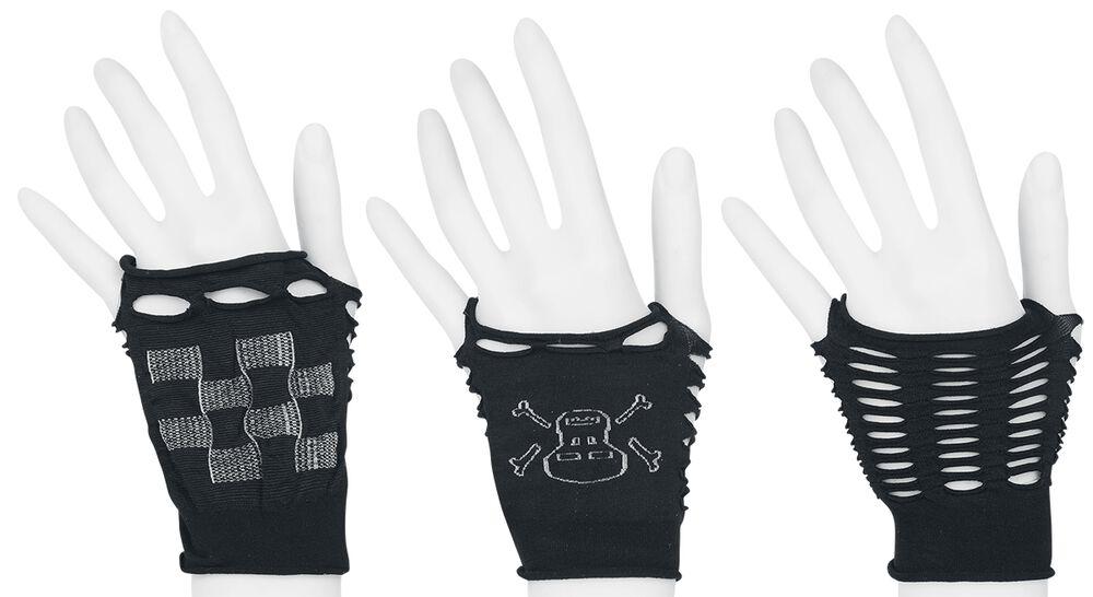 3er Pack Handstulpen