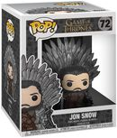 Jon Snow Iron Throne (POP Deluxe) Vinylfiguur 72