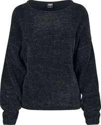 Ladies Oversized Chenille Sweater