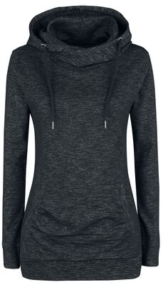 Ladies Slub Terry High Neck Hoodie