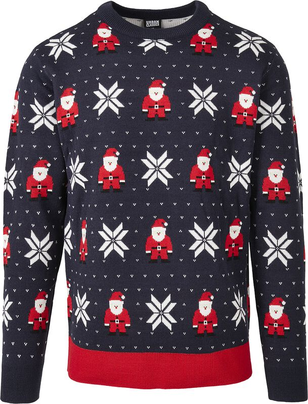 Santa And Snowflakes Sweater