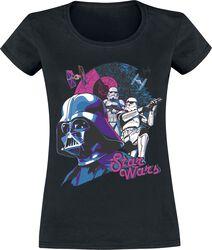 Darth Vader & Stormtrooper - Retro