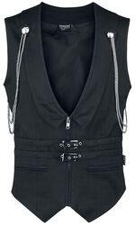 Gothic Fishbone Men's Vest