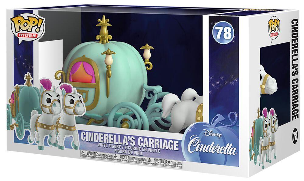 Cinderella's Carriage (Pop! Rides) Vinylfiguur 78