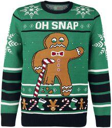 Gingerbread Man Oh Snap - Bite Me