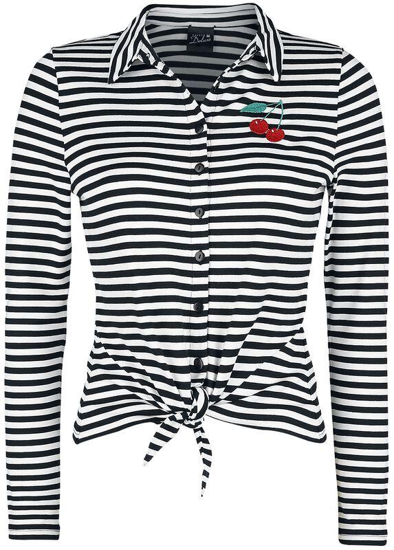 Stripes Longsleeve Blouse