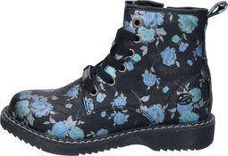 Blue Flower Boots