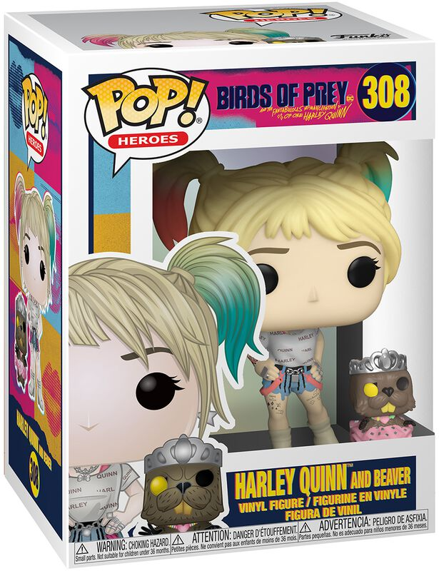 Harley Quinn and Beaver Vinylfiguur 308